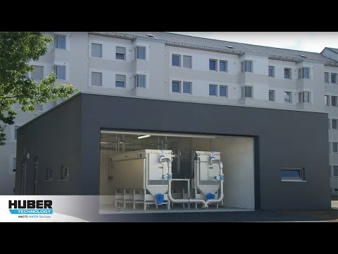 Video: HUBER Pumping Stations Screen ROTAMAT® RoK4 in a HUBER ThermWin® Solution
