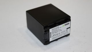 Wasabi Power Battery for Sony FDR-AX100 Unboxing