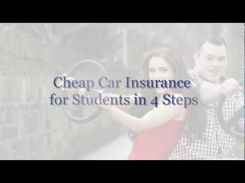 Cheap Car Insurance for Students in 4 Steps – Rate Digest Cheap Car Insurance Quotes
