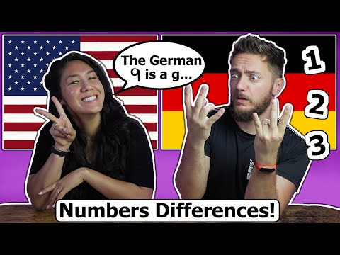 Numbers Differences - Germany vs. USA