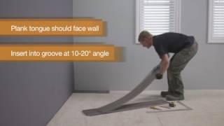 How to Install Locking Vinyl Plank