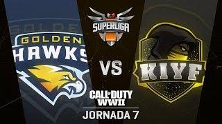 GOLDEN HAWKS VS KIYF - SUPERLIGA ORANGE COD - JORNADA 7 - #SuperligaOrangeCOD7
