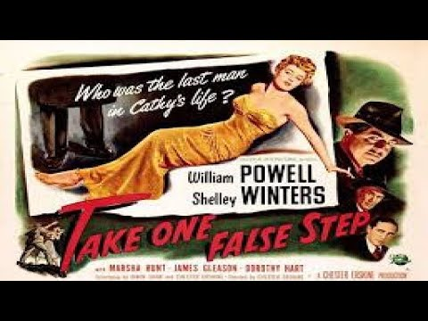 Take One False Step (1949) Full Movie   Film Noir