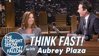 Download Video Think Fast! with Aubrey Plaza MP3 3GP MP4