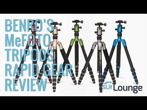 MeFOTO Roadtrip and Globetrotter Travel Tripod Demo