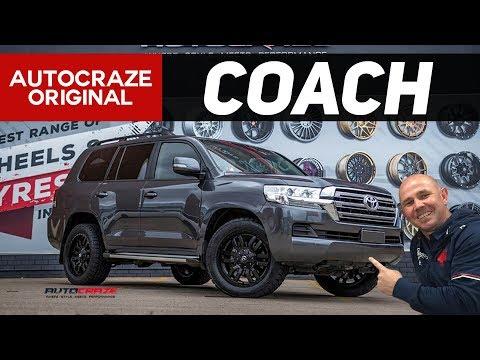 COACH // Hayden Knowles' Toyota Landcruiser - Fuel Sledge Wheels & Tyres