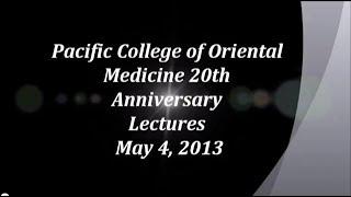 Acupuncture&Integrative Medicine - PCOM NY 5/4/13