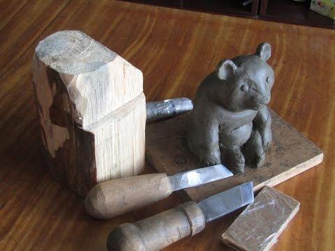 , title : 'Резьба по дереву обучение вырезать медведя урок № 2'