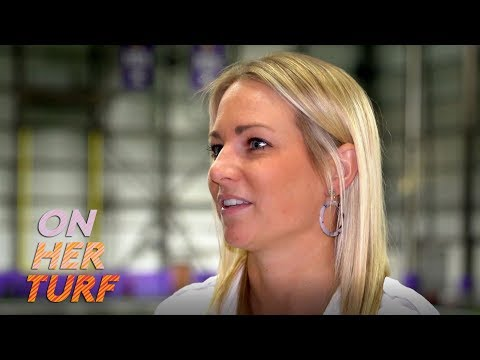 Video: Vikings' Kelly Kleine on working for college scouting department I On Her Turf I NBC Sports