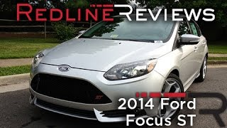 2014 Ford Focus ST Review, Walkaround, Exhaust,&Test Drive