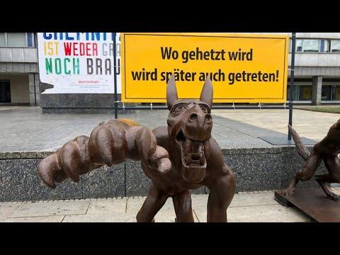 Chemnitz: Erste Haftstrafe wegen Hitlergruß im besc ...