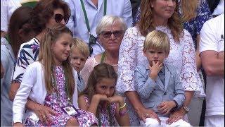 2017 Wimbledon Roger Federer's Moment