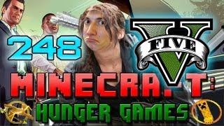 GTA 5 SPECIAL Minecraft: Hunger Games w/Mitch! Game 248 - San Andreas - Grand Theft Auto Theme!