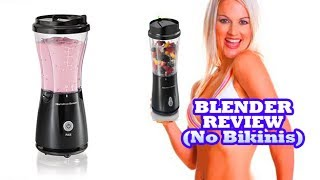 Personal Blender on Amazon:  http://amzn.to/2tNdFlsMuscle Milk Protein Powder:  http://amzn.to/2smolmQ Rushing through breakfast or skimping on your health with vending machine drinks is no way to start out the day or live a healthy lifestyle. Instead, invest in a personal-size blender that makes it easy to have a nutritious beverage on the go. That's right, the Hamilton Beach Single-Serve Blender delivers all the delicious-tasting flavors of restaurant smoothies and frozen drinks at a fraction of the price.What's more, this little blender lets you personalize your recipes, perfect your mixology skills and control your portions, all in one. With its durable stainless steel blades and pulse blending action, it's fully equipped to prepare a variety of great-tasting smoothies, shakes and more.Don't let its space-saving design fool you. The versatile blending container functions as a mixing jar one minute and doubles as a portable travel mug with attachable drinking lid the next. For a lightweight, easy-to-use, inexpensive personal blender, the Hamilton Beach Single-Serve Blender is well worth the investment. Just imagine all the recipe possibilities, extra storage room and money you're saving. Want to support our channel?  Bookmark this Amazon link and use to get to Amazon whenever you are going to shop.  It costs you nothing, but we get a small benefit from Amazon:  http://www.amazon.com/?tag=wrestling911c-20Tech Reviews and Gadgets:  https://www.youtube.com/playlist?list=PL4hlirXfjCJPUNgeF0UWXys4epktngAfhTeeth Whitening:  https://www.youtube.com/watch?v=HoNz4dB2K2cMeta-Seven:  https://www.youtube.com/watch?v=lG0WnOM8raEDr. John Gilmore's Shop:  http://www.shopgilmore.comhttp://youtube.com/c/911Reviews?sub_confirmation=1Make Money on YouTube:  http://amzn.to/2cwdlzCSponsor a video for as little as $100.  Contact:  AllStarBoxOffice@gmail.com