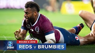 Reds v Brumbies Rd.6 2019 Super rugby video highlights | Super Rugby Video Highlights