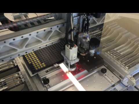 PICKNPLACE - This past week, SparkFun production got a serious upgrade with a new pick and place machine - the Manncorp MC384. It can place up to 4000 parts per hour and ...