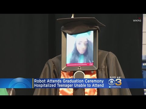 Graduation quotes - Hospitalized High School Student Attends Graduation Thanks To Robot