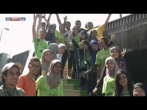 زاهية - أطلق مجموعة من طلاب كلية الفنون الجميلة في مصر، حملة بعنوان تلوين المدينة الرمادية، ويسخر شباب المبادرة،...