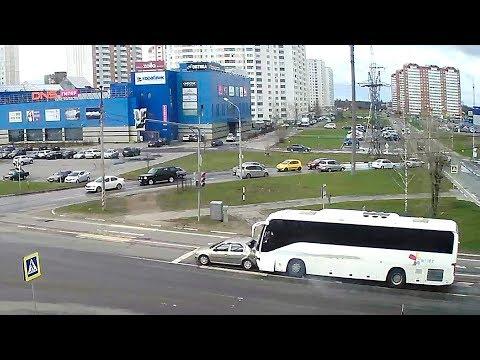 Авария в Серпухове на Московском шоссе