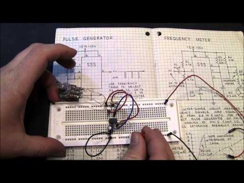 555 - The 555 IC is a multivibrator integrated circuit that can be used in thousands of applications. I show how to build astable and monistable circuits (blink an...