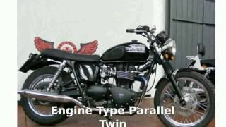 2. 2006 Triumph Bonneville T100 - Details and Features