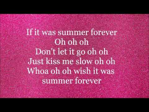 Megan Nicole - Summer Forever - Lyrics