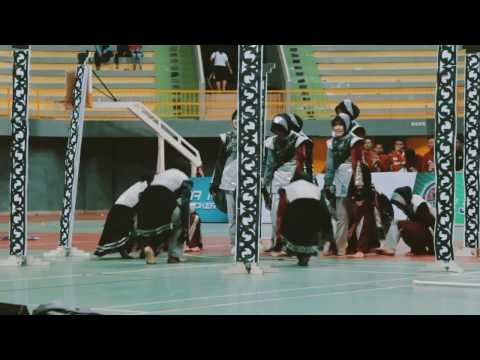 JHDC Color Guard Performance | Guest Star At Kediri Marching Competition  2017
