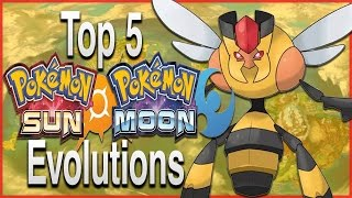 Top 5 Evolutions/Pre-Evolutions for Pokémon Sun and Moon by HoopsandHipHop
