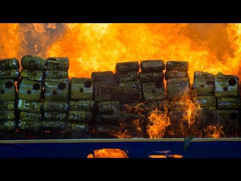 Südostasien: 85 Tonnen beschlagnahmtes Rauschgift angezündet