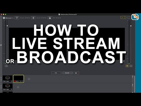 What I Use to Live Stream - Wirecast Pro