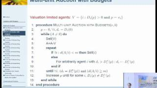 Single Valued Combinatorial Auctions with Budgets - Stefano Leonardi
