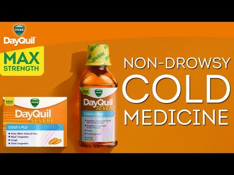 Vicks DayQuil SEVERE Product Information | Non-Drowsy Daytime Cold Medicine
