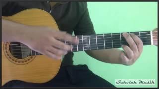 Tutorial Main Gitar Dangdut Untuk Pemula (Pola Genjrengan Dangdut)