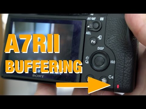 Sony Uncompressed RAW & the A7RII buffer Problem