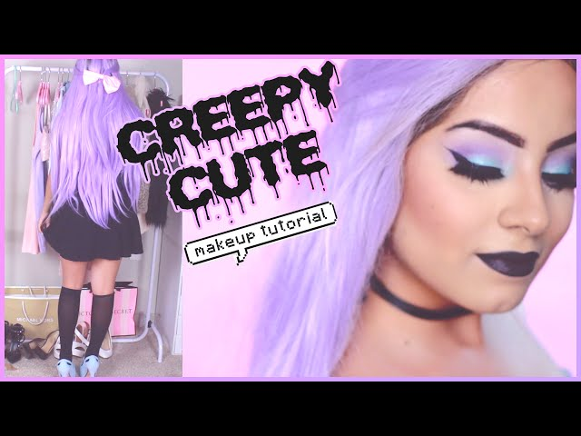 Pastel Goth Makeup Tutorial Outfit Tumblr Pastel Goth Style   Mp3FordFiesta.com