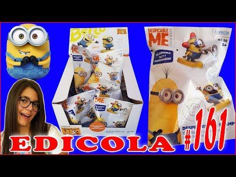 EDICOLA #161: DESPICABLE ME 3 MINIONS Cattivissimo Me 3D STAMP (by Giulia Guerra) (видео)