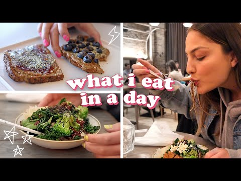 what i eat in a day: vegan 🌱 quick + easy!