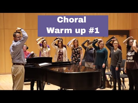 Choral Warm up #1: Full Vocal Warm up
