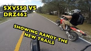 6. Randys 2nd SXV550 first ride