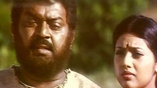 Meena, Vijayakanth Comedy - Periyanna Tamil Movie Scene