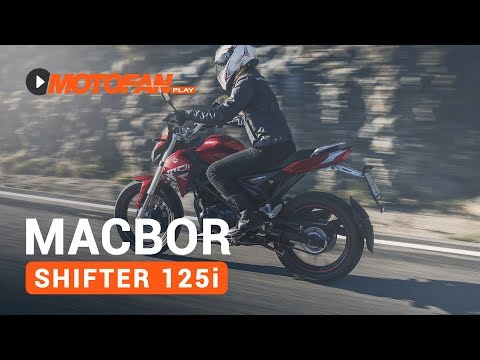 Vídeos de la Macbor Shifter MC1 125i