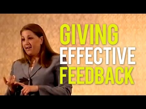 Giving Feedback for Strong Performance
