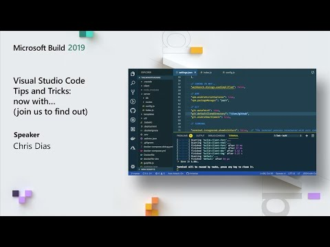 Visual Studio Code Tips and Tricks – now with… (join us to find out) - BRK3022