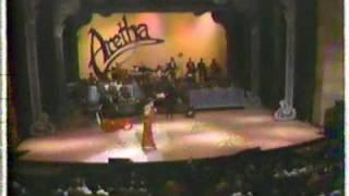 Rev. Charles Nicks, Jr., Aretha Franklin Concert.  Comments By Rev. Nicks, Sidney Holmes, Cecil Fran