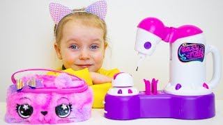 Video Gaby and Alex Pretend Play with Mama and Toys   Compilation video for kids MP3, 3GP, MP4, WEBM, AVI, FLV Mei 2019