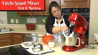 "Join Amy for a product test & review of the Litchi 5.5 Quart Stand Mixer with Blender, Meat Grinder & Pasta Extruder.  This stand mixer includes the whip, paddle, scraper paddle, and dough hook attachments. The multifunction model also includes a meat grinder, sausage stuffer, pasta extruder, and a blender. This mixer is 650 watts. We put this stand mixer to the test by whipping cream, making cookies, making pizza dough as well as making a Mango Margarita and grinding chicken. Amy Learns to Cook is all about learning to make simple, tasty food from fresh ingredients. One year ago, I made a commitment to stop eating processed convenience foods. I decided to learn to cook ""real"" food. Join me! Let's learn to cook together! Enjoy! Please share!Litchi 5.5 Quart Stand Mixer:http://amzn.to/2oqWVgFLitchi Stand Mixer Multifunction 5.5 Quart Mixer with the Blender and Meat Grinder:http://amzn.to/2n2BYJ7 Amy's Mango Margarita:https://youtu.be/ddzRs1pHWVYBread Machine Pizza Dough:https://youtu.be/EzkgDYts7uMPlease SUBSCRIBE to my channel, LIKE, and leave a COMMENT.Please visit my website: www.amylearnstocook.comAny links in this description, including Amazon, are affiliate links.I received this product free of charge in exchange for my honest review."