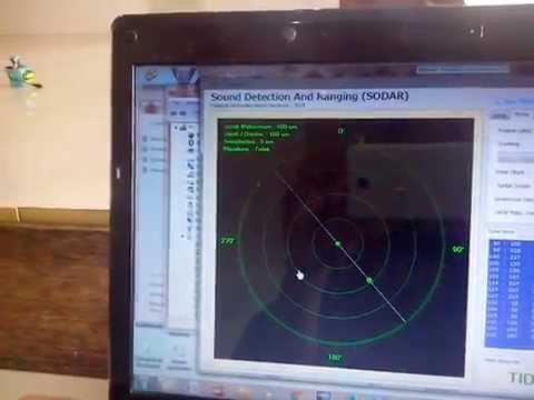 SODAR Ultrasonik Untuk Monitoring Kondisi Ruang Dengan Komunikasi Nirkabel