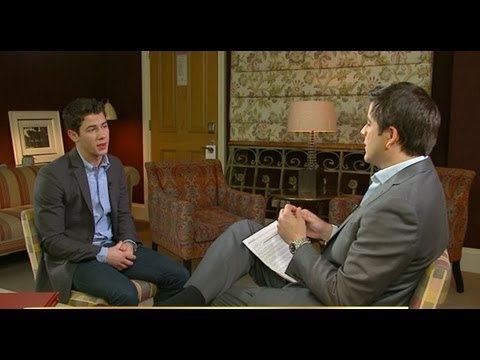 punk'd - Josh Elliott shocked as singer, actor Nick Jonas loses temper during staged interview. For more, click here: http://gma.yahoo.com/entertainment/