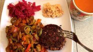 via YouTube Capture This is my favourite meal. High in nutrients, low in calories, this meal is a nice mixture of cooked and raw. Due to my work situation, I...
