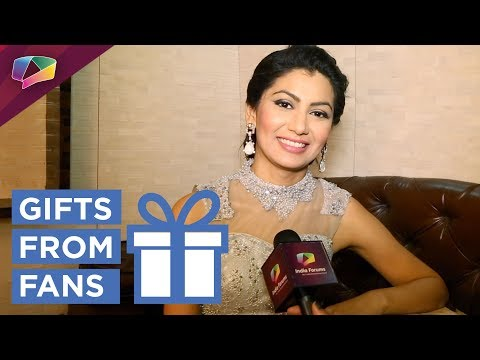 Sriti Jha Receives Gifts From Her Fan | Gift Segme